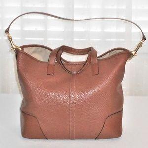 Coach Hadley Luxe Grain F31334 Leather Handbag